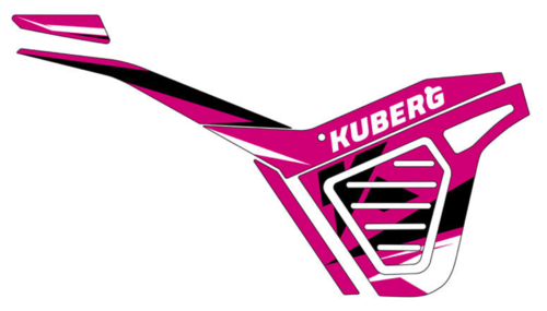 Dekor Set für KUBERG Cross - rosa