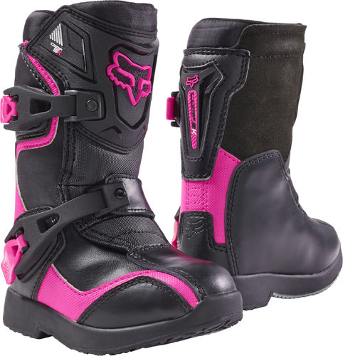FOX Kids  Motocross-Stiefel – COMP 5K – pink