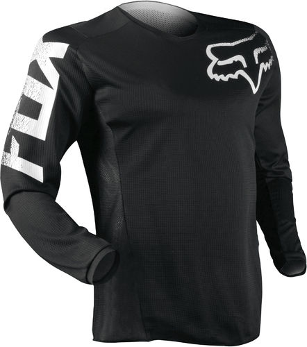 FOX Youth / Kids BLACKOUT Jersey – Schwarz