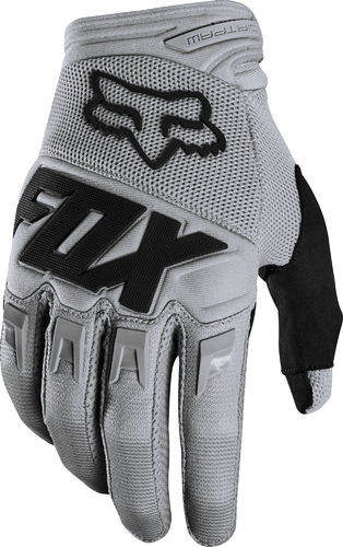 FOX Youth / Kids Race Handschuhe – grau