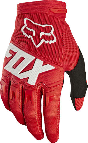 FOX Youth / Kids Race Handschuhe – rot