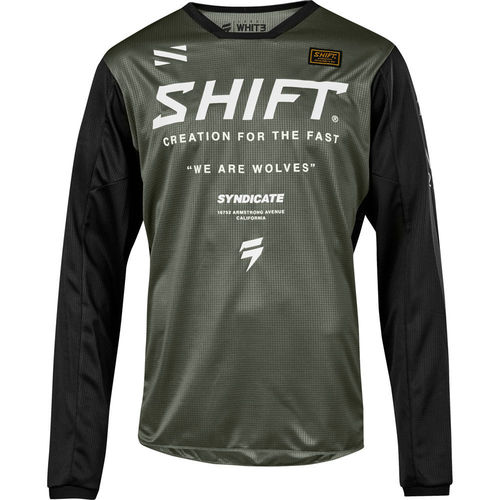 SHIFT – YOUTH WHIT3 MUSE JERSEY
