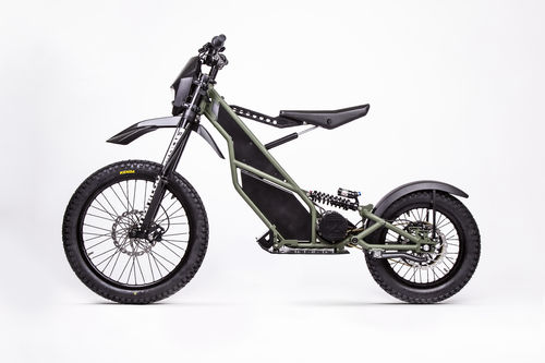 KUBERG RANGER - BIKE-SCOOTER CROSSBREED