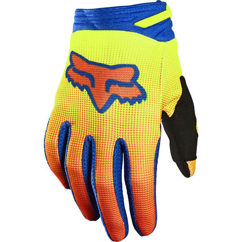 FOX Youth / Kids OKTIV Handschuhe – gelb